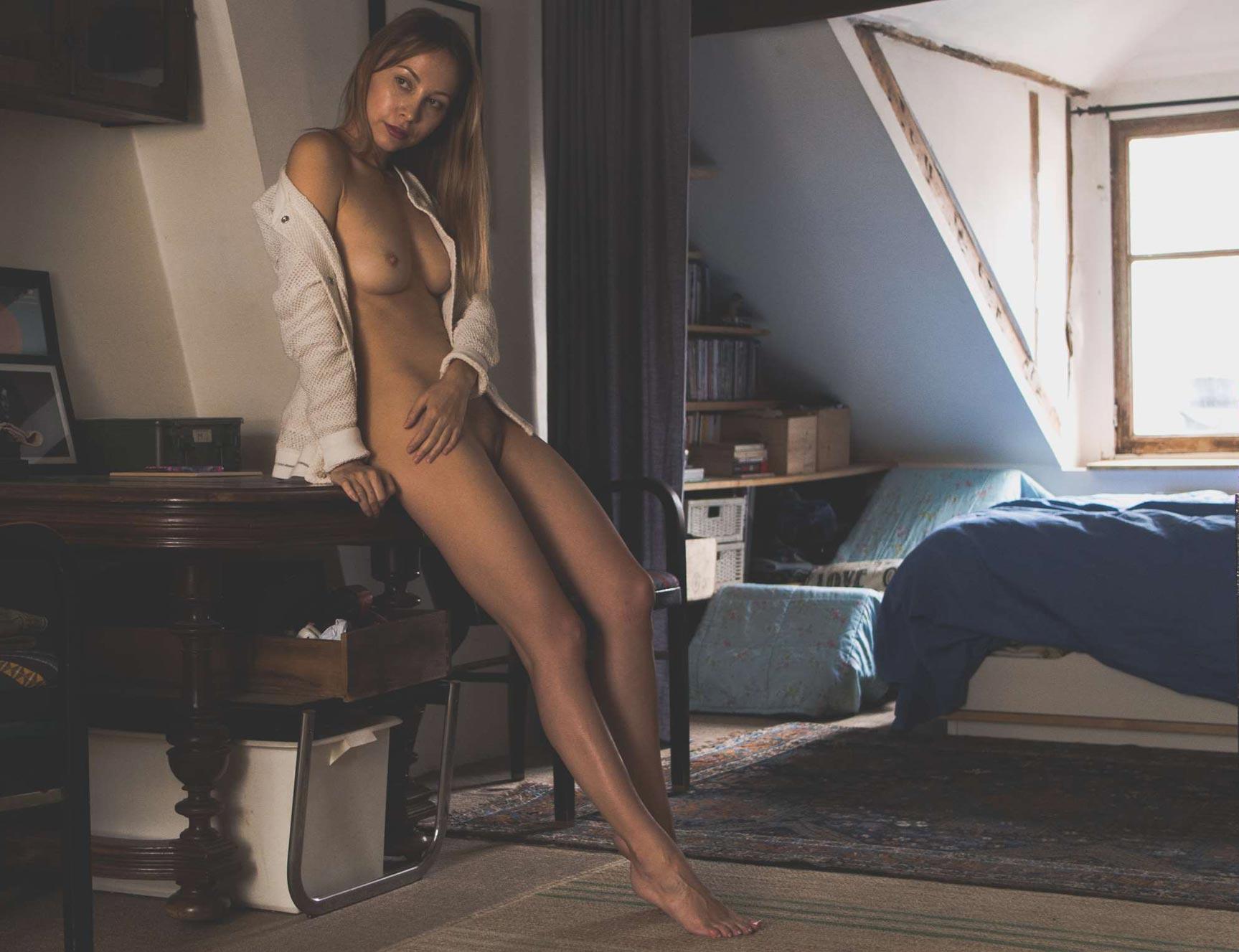 Anna Orlova nude by Lars Krogh Vammen