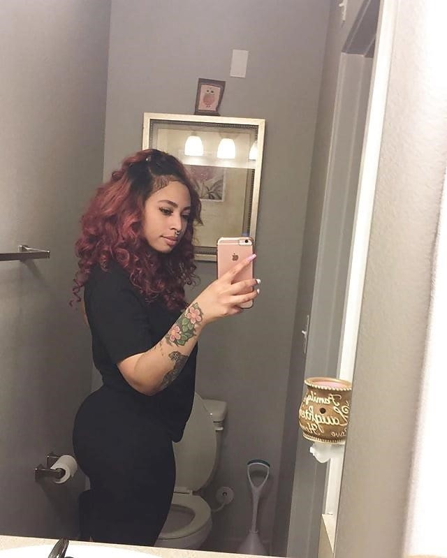 Thick fat black booty-5572