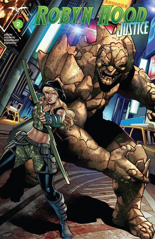 Robyn Hood - Justice #1-3 (2020)
