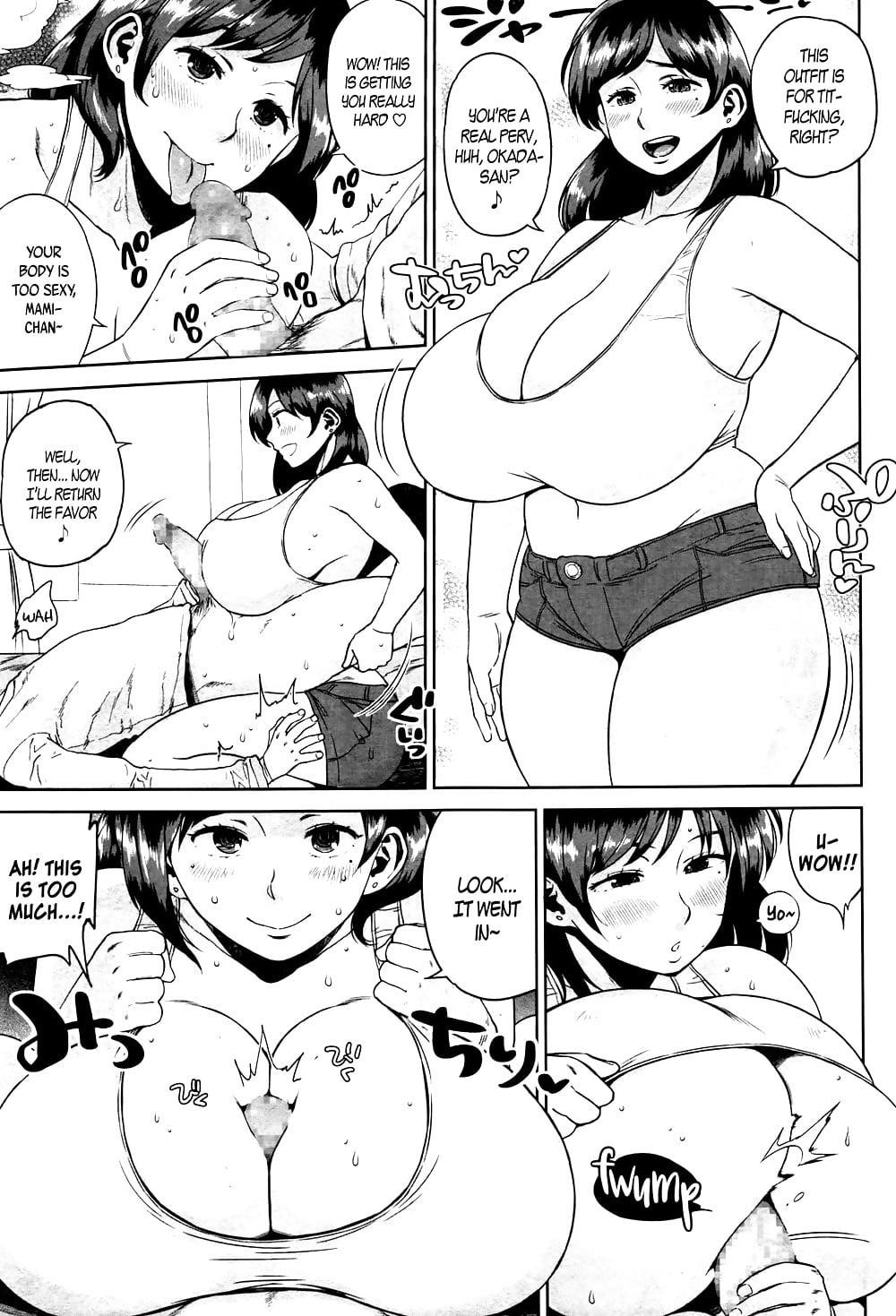 Huge tits porn comics-4401