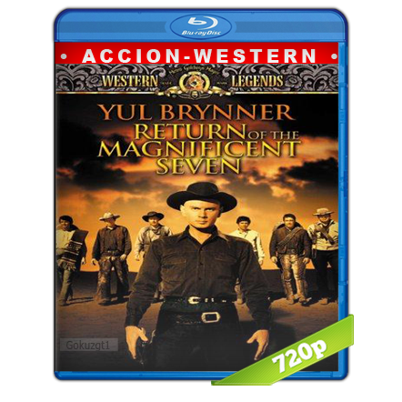 descargar El Regreso De Los Siete Magnificos 720p Lat-Cast-Ing[Western](1966) gartis