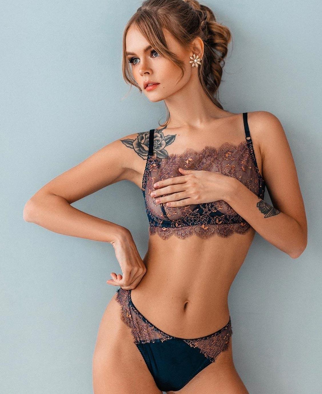 Анастасия Щеглова в нижнем белье торговой марки MissX / фото 10