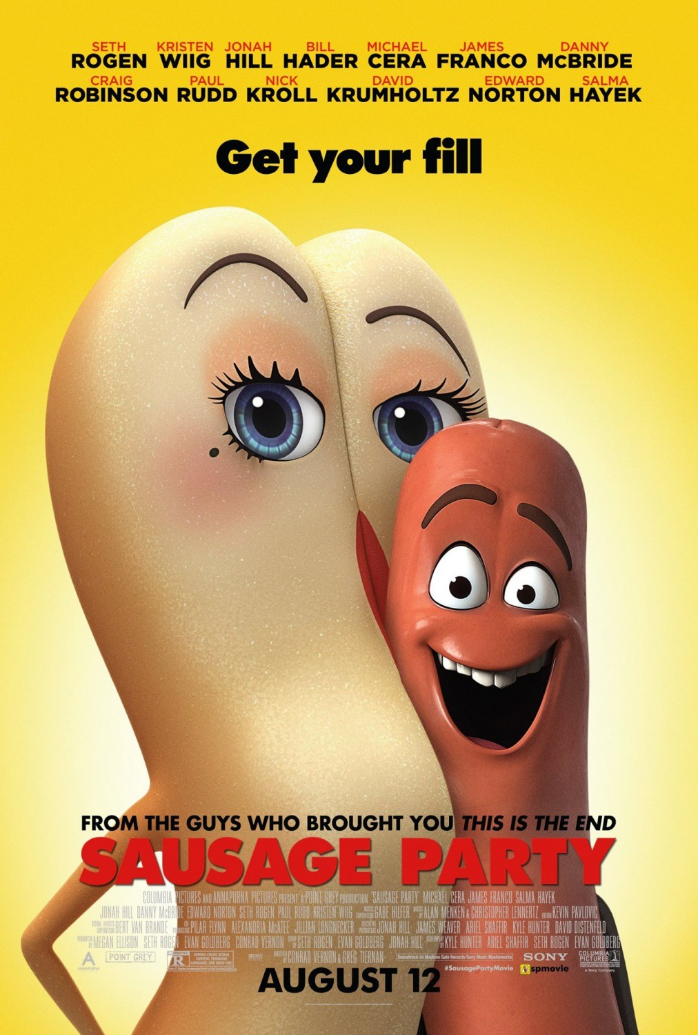 Sausage Party | Google Drive Links | Movies | Softwares | Wallpapers