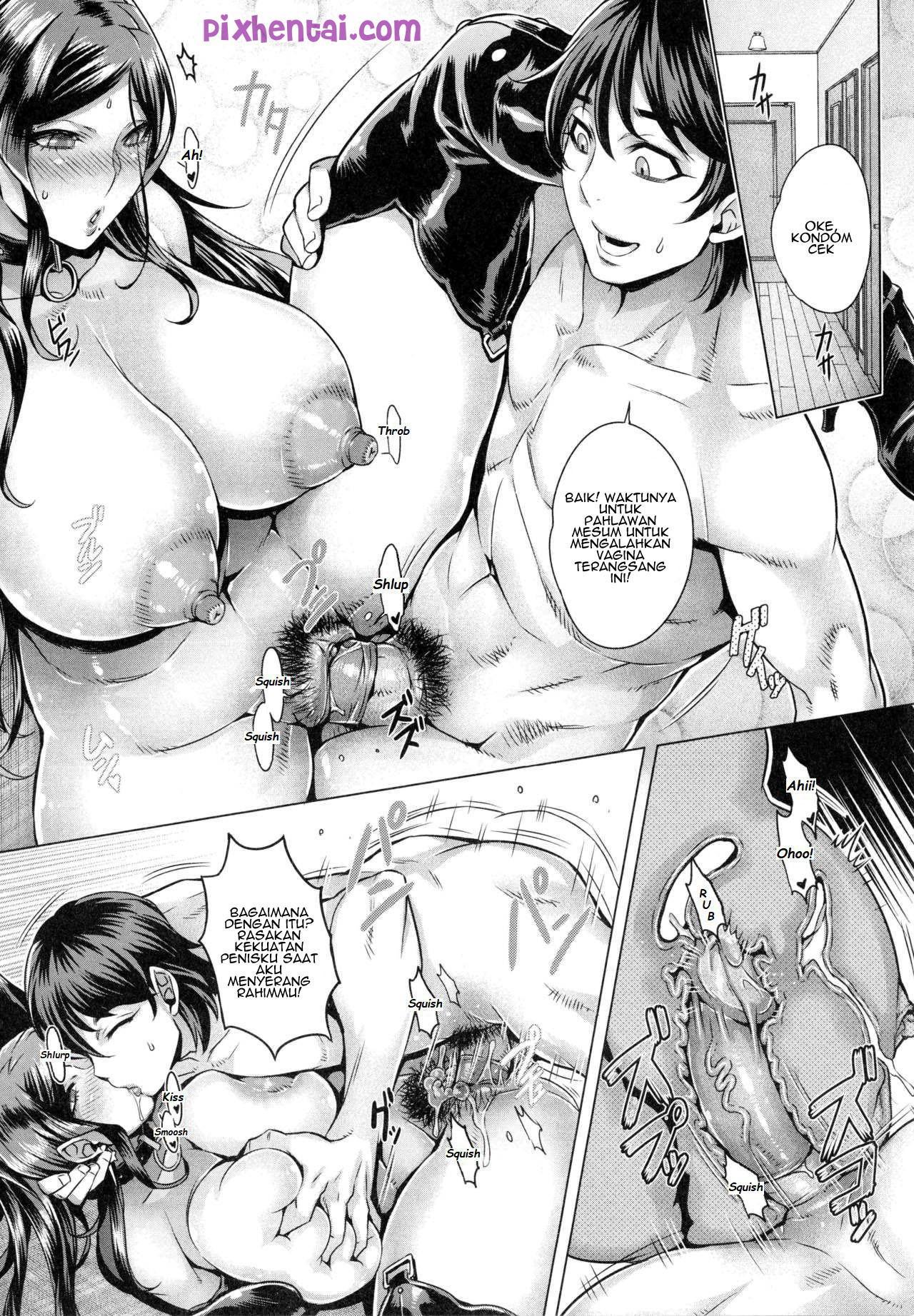 Komik hentai xxx manga sex bokep entot ibu kost saat cosplay 16