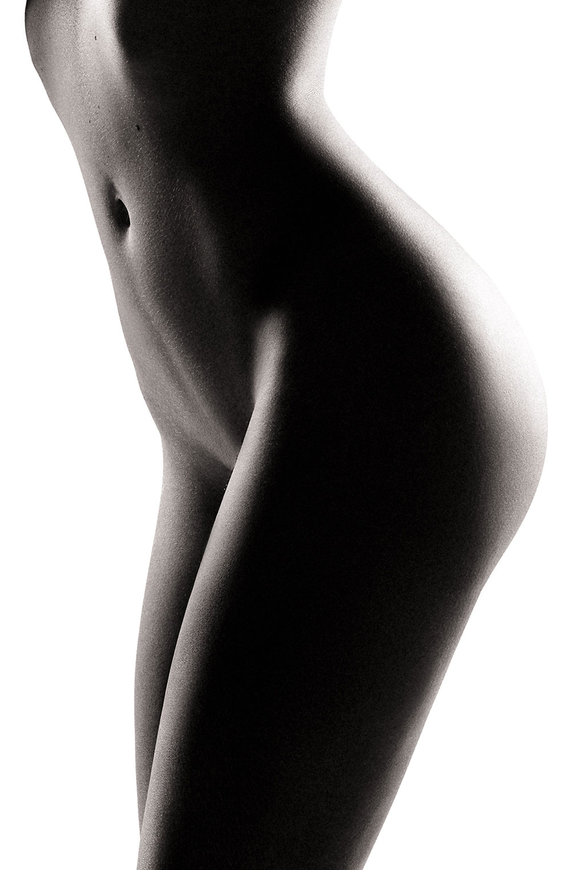 Голая модель Милунель, фотограф Бенджамин Вингриф / фото 12