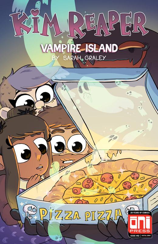 Kim Reaper - Vampire Island #1-4 (2018) Complete