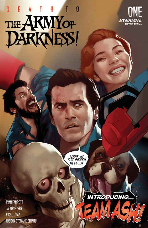 Death to the Army of Darkness! #1-4 (2020)