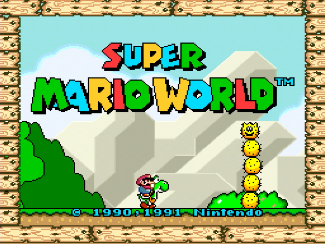 Super Mario World (USA) PC Retro Oyunu Oyna