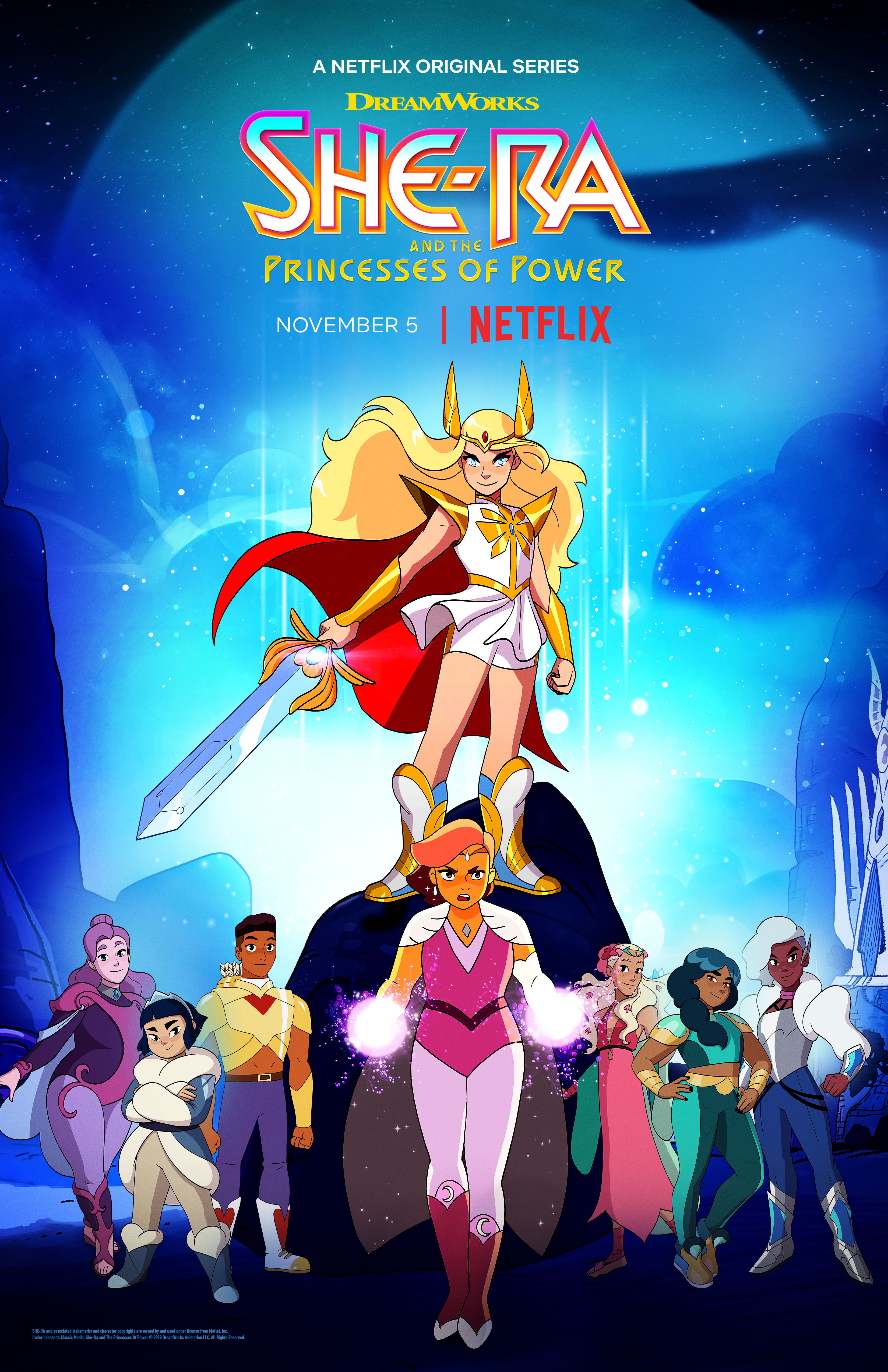 She Ra and the Princesses of Power S01 S02 S03 S04  [مدبلج] [1080]