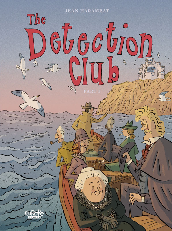 The Detection Club 01-02 (Europe Comics 2020)
