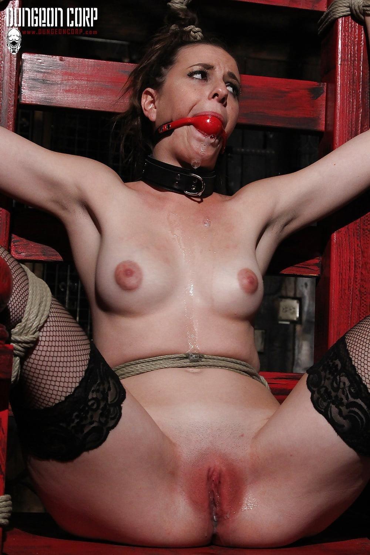 Hogtied sex slave-2100