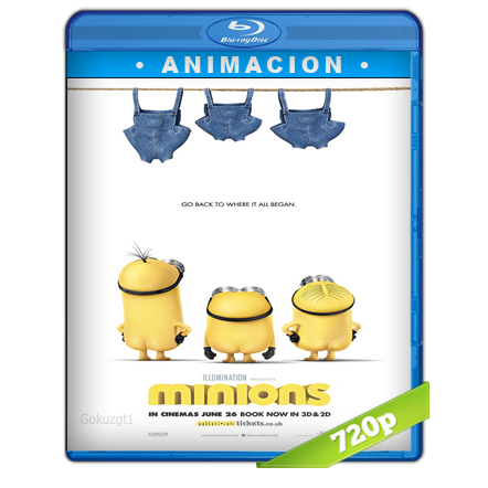 Los Minions HD720p Audio Trial Latino-Castellano-Ingles 5.1 (2015)