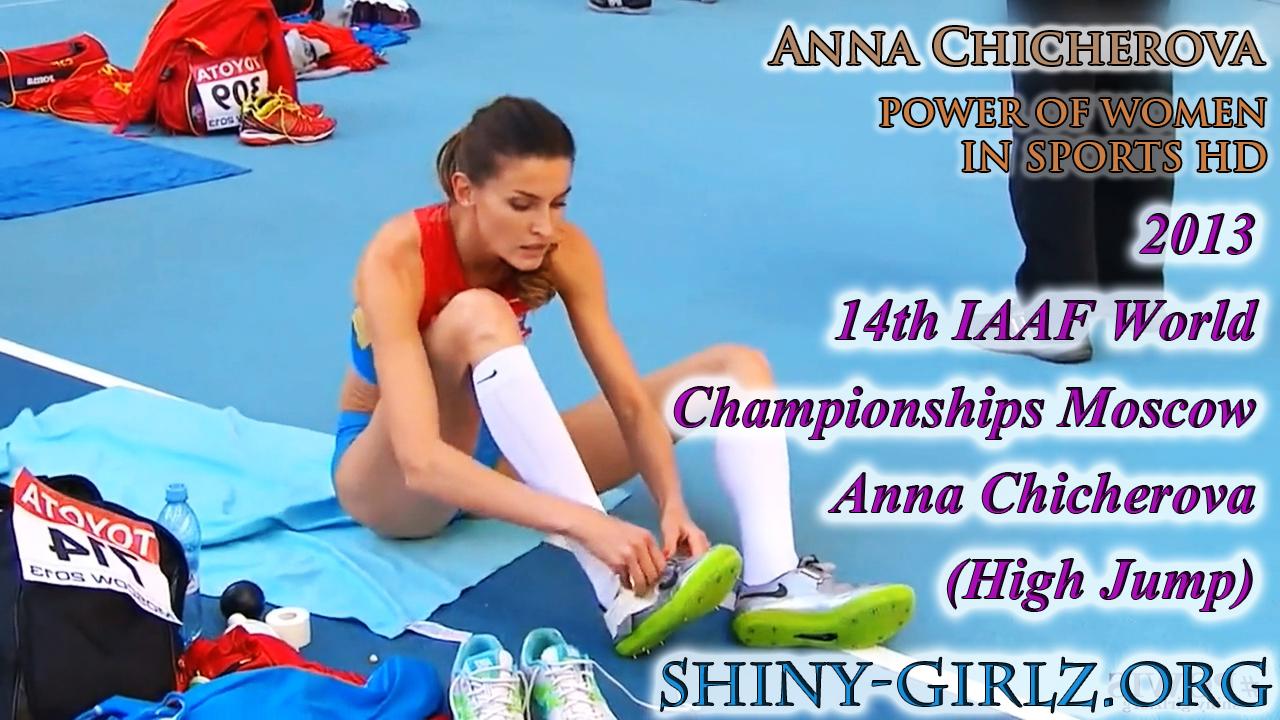 2013 14th IAAF World Championships Moscow – Anna Chicherova (High Jump)