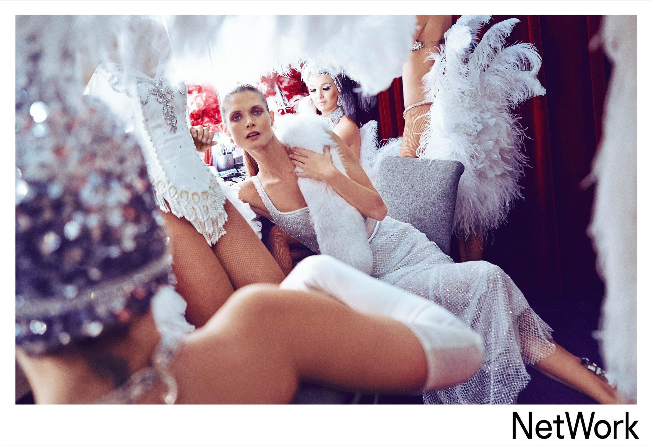 супермодель Малгоша Бела в рекламной кампании турецкого модного бренда Network, сезон весна-лето 2015 / фото 01