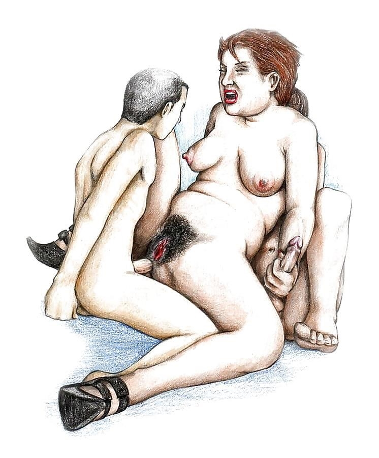 Black On White Sex Cartoons