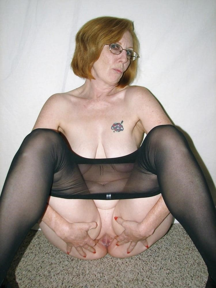 Ginger granny anal-7413