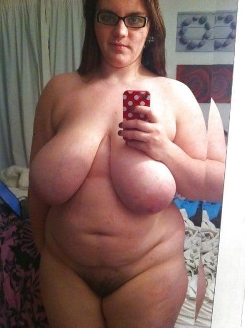 Naked fat girl selfies-9890