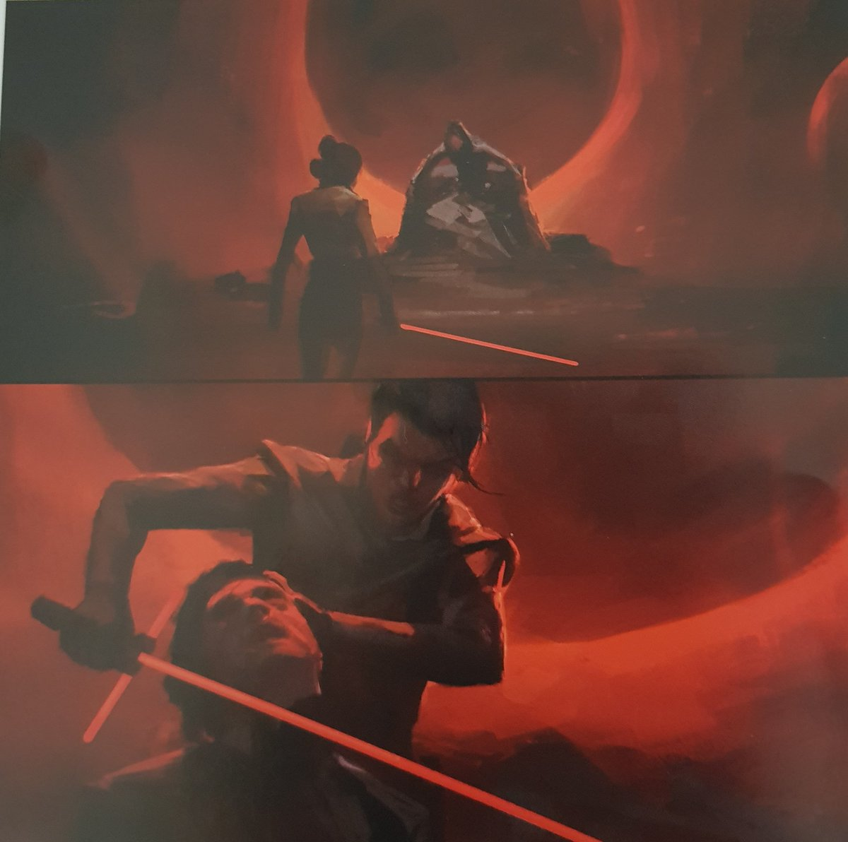 Star Wars The Rise Of Skywalker Over 100 Pieces Of Concept Art Have Leaked Online Showing Unfilmed Scenes