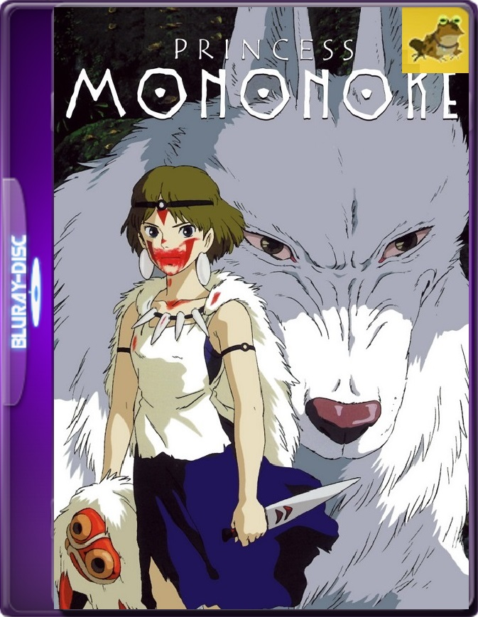 La Princesa Mononoke (1997) Brrip 1080p (60 FPS) Latino / Japonés