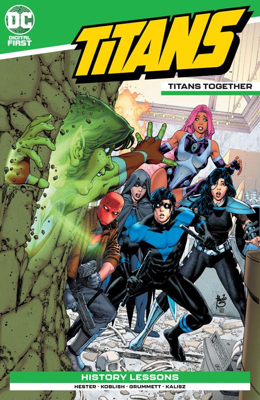 Titans - Titans Together #1-4 (2020)