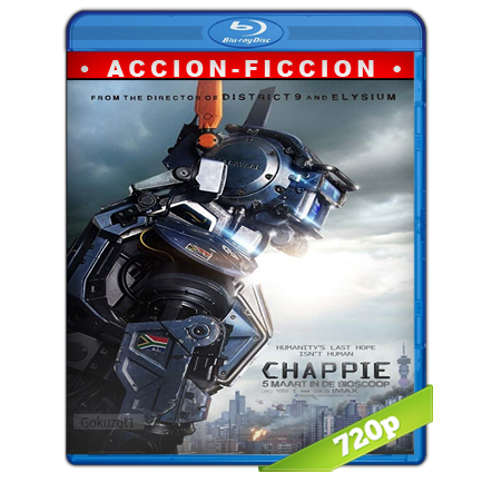 Chappie HD720p Audio Trial Latino-Castellano-Ingles 5.1 2015