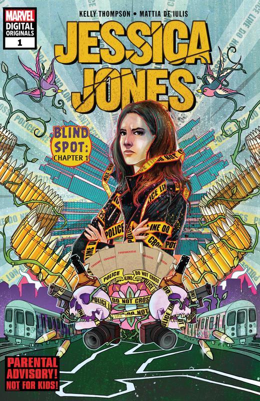 Jessica Jones #1-2 (2018) (Digital Original)