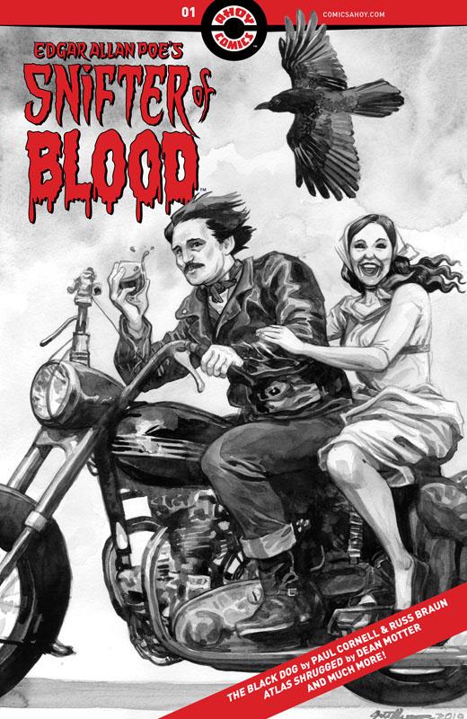 Edgar Allan Poe's Snifter of Blood #1-3 (2020)