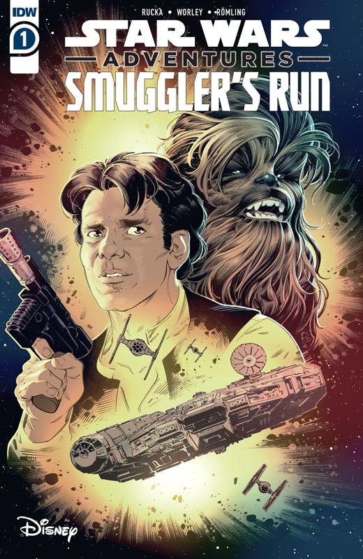 Star Wars Adventures - Smuggler's Run #1-2 (2020-2021) Complete
