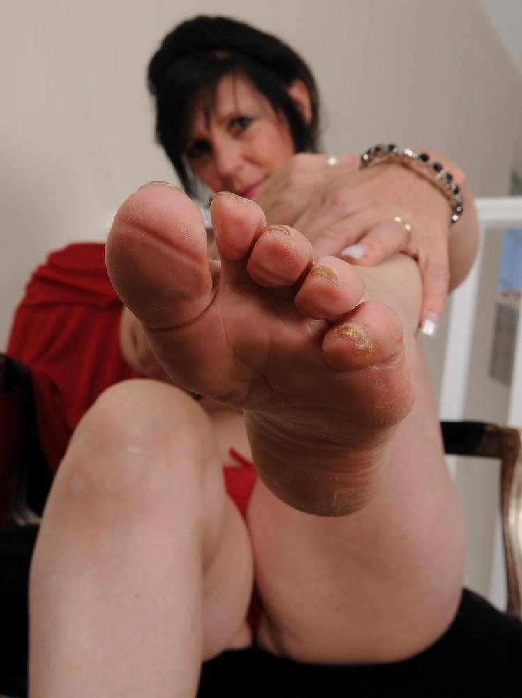 Granny foot femdom-6240
