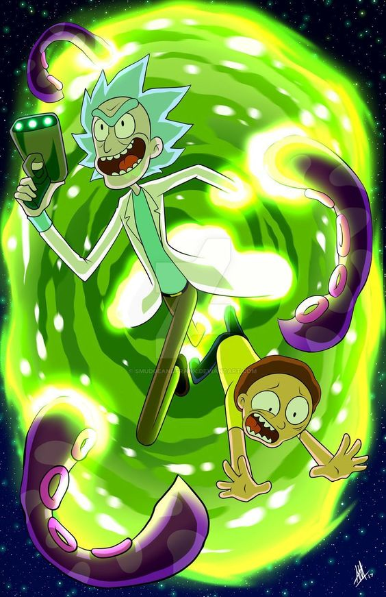57 Rick and Morty Wallpapers for iPhone and Android 34