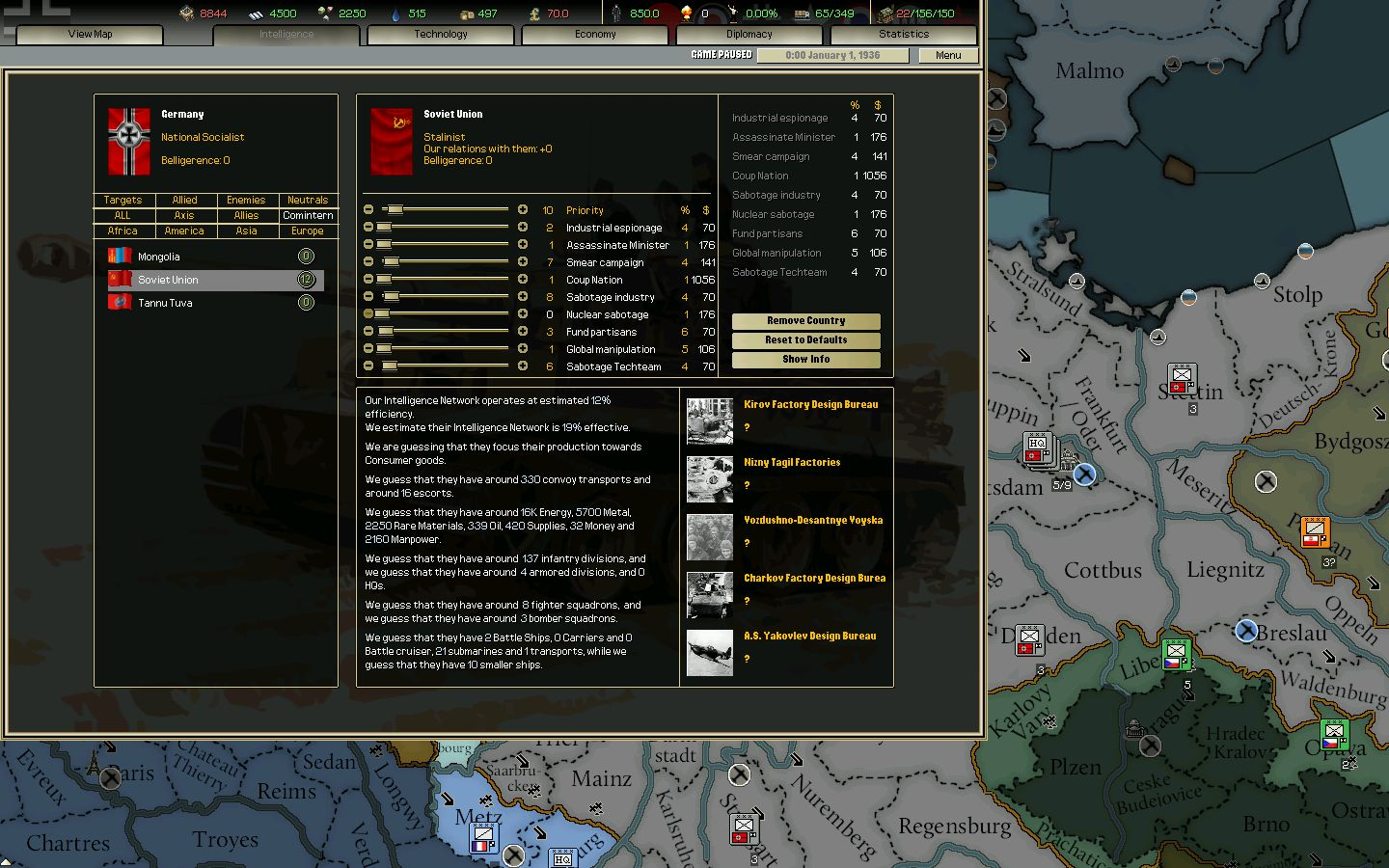 Darkest Hour: A Hearts of Iron Game Captura 2