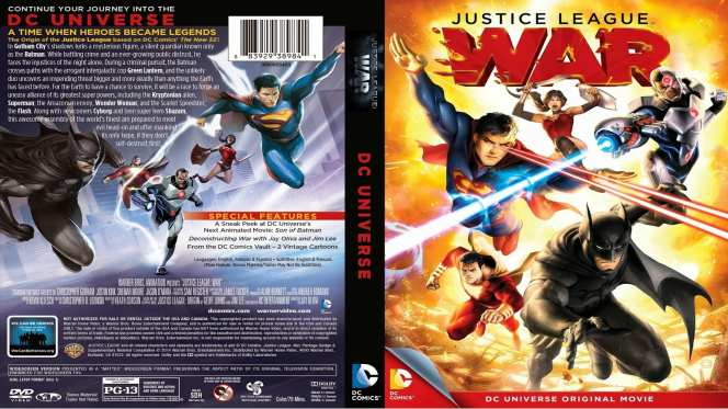 La Liga De La Justicia Guerra (2014) BRRip Full 1080p Audio Dual Latino-Ingles