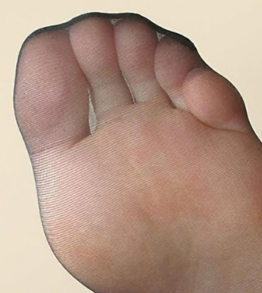 Nylon feet porn hd-1367