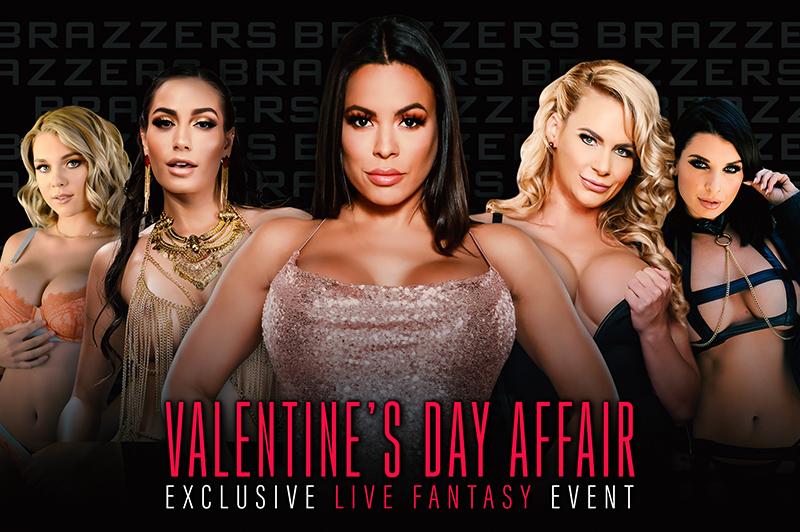 Brazzers LIVE – Valentine's Day Affair – Brazzers Live – Brazzers