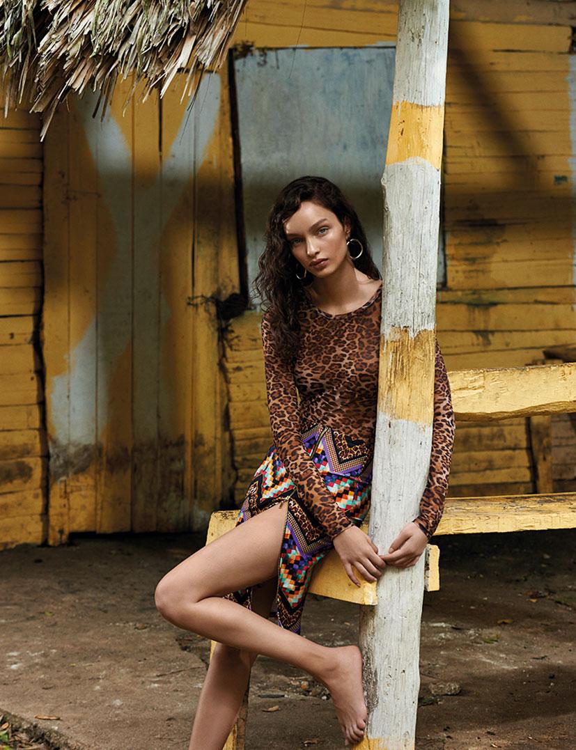 Лума Гроте в купальниках и пляжной одежде модного бренда Cia Maritima / фото 11