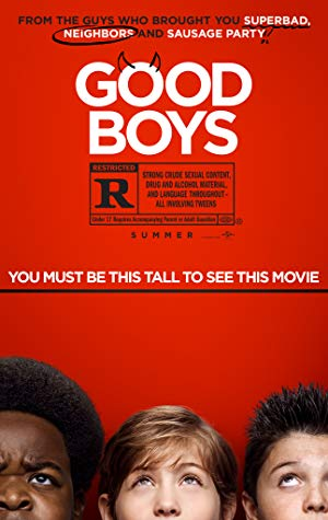 Good Boys 2019 720p BRRip XviD AC3-XVID