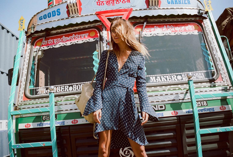 Достопримечательности Джайпура и Оливия Аарнио / Olivia Aarnio by Brydie Mack - Faithfull the Brand summer 2017