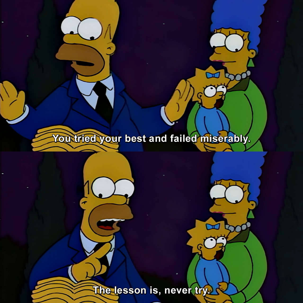 28 the simpsons funny captions memes quotes 25