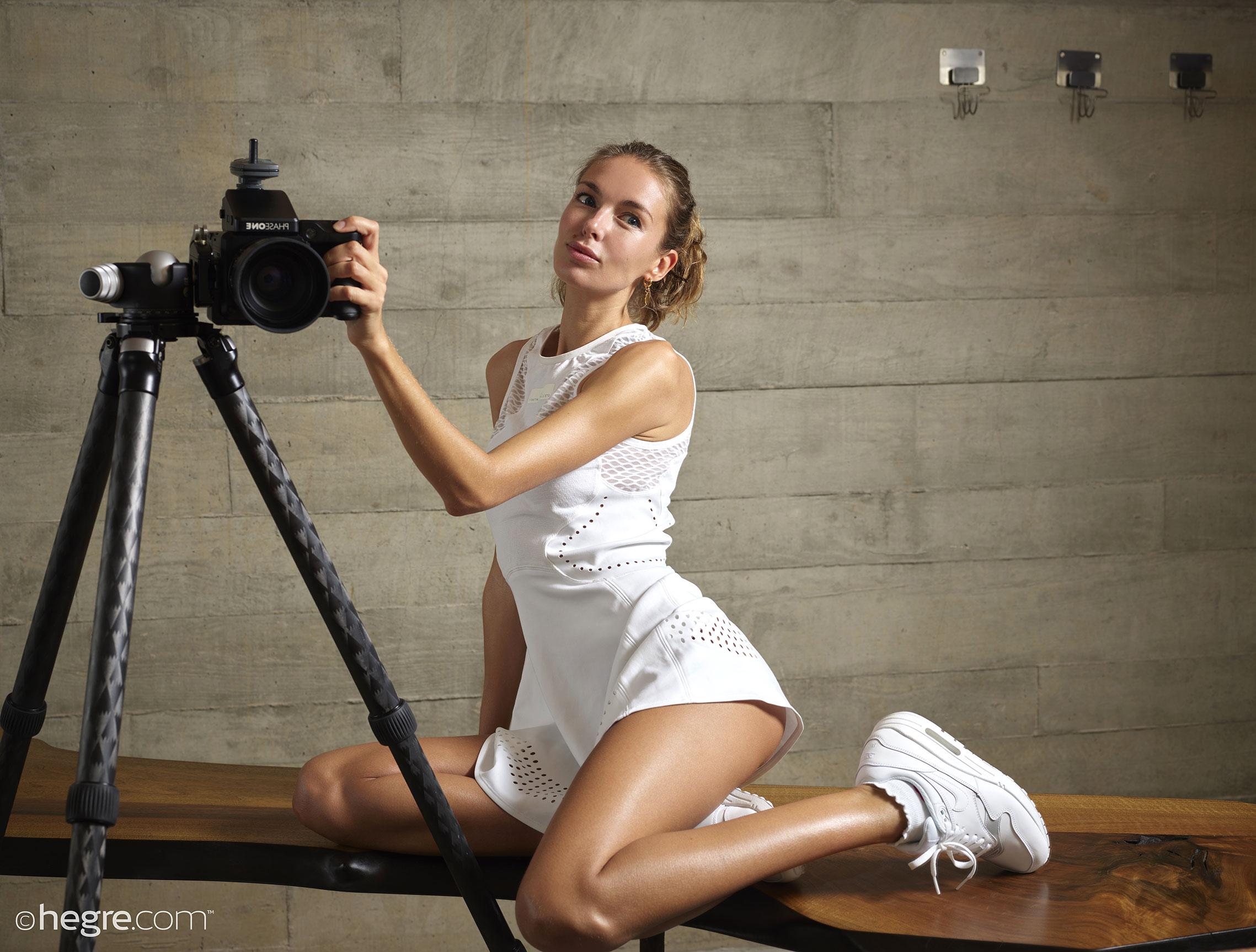 Nude Selfies / Alena Vezza aka Alya by Petter Hegre / Hegre Art