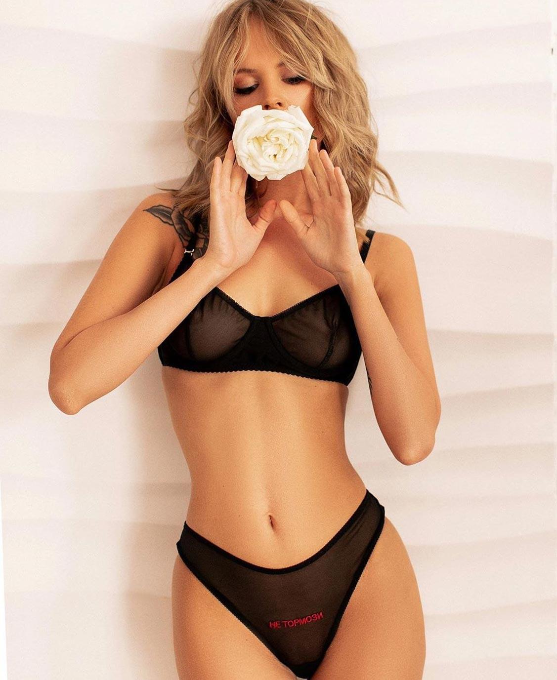 Анастасия Щеглова в нижнем белье торговой марки MissX / фото 11