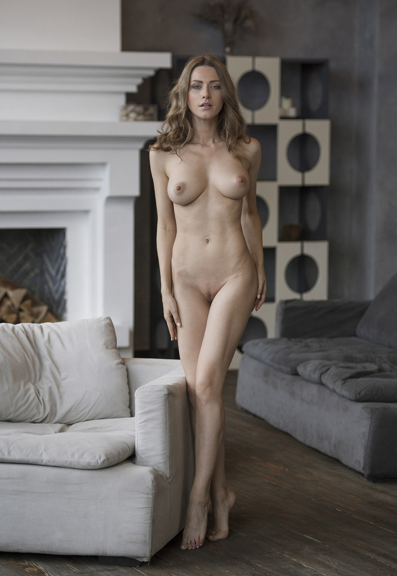 From Russia with Love / Olga Alberti nude by Martin Wieland