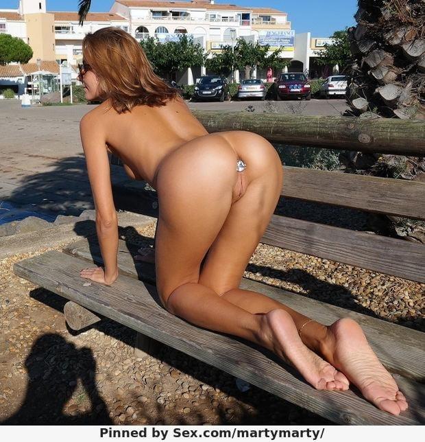 Buttplug in public pics-7251
