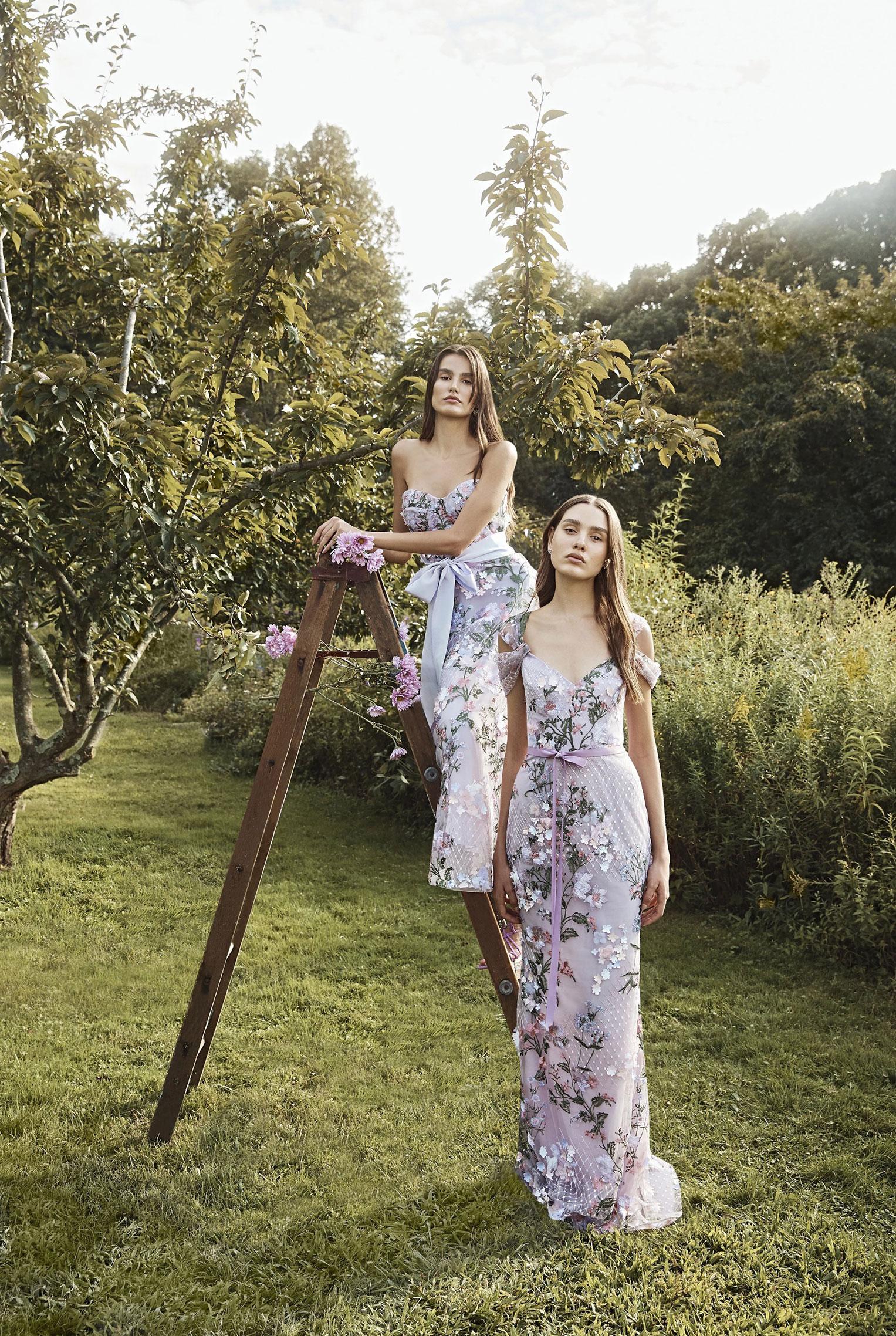 Коллекция модной одежды Marchesa, сезон весна-лето 2020 / фото 08