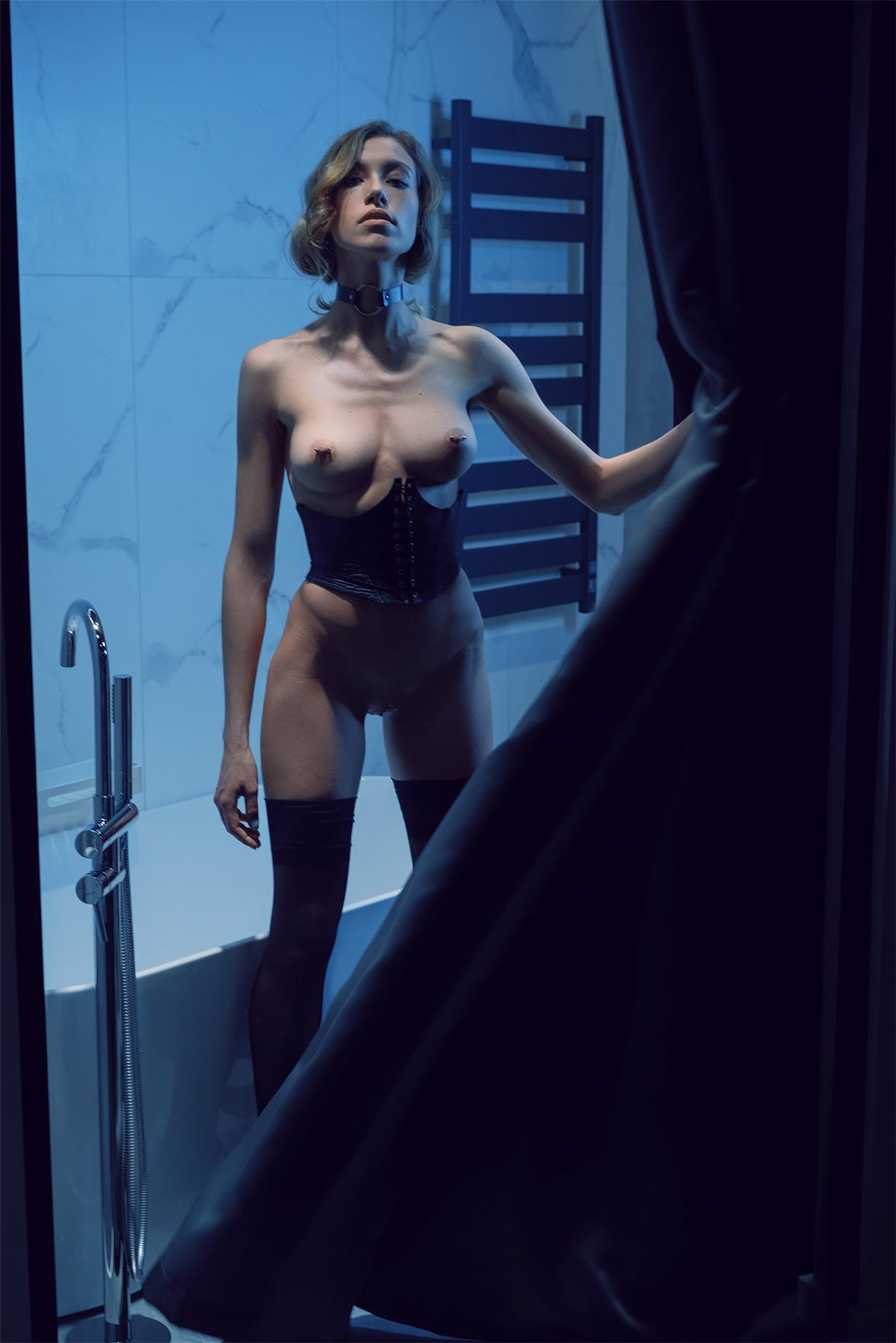 голая Алиса, фотограф Артур Каплун