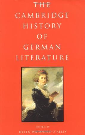 Cambridge History German Literature