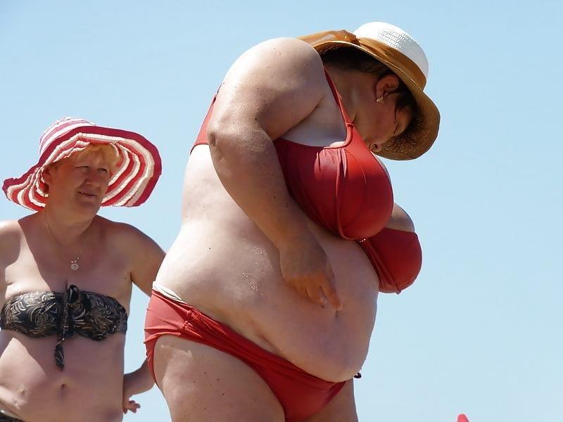 Nude big boobs on beach-7069