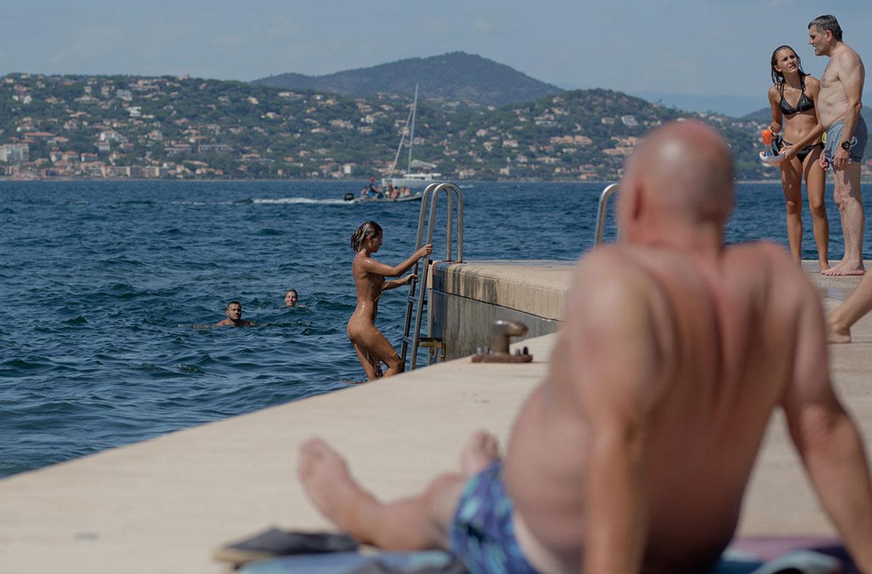 Saint-Trophy - Marisa Papen nude by Werner Stoltz