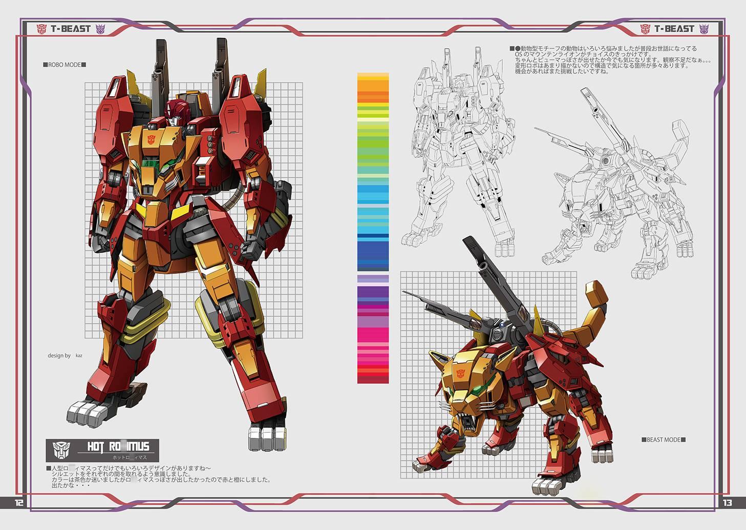 Produit Tiers - Design T-Beast - Basé sur Beast Wars - par Generation Toy, DX9 Toys, TT Hongli, Transform Element, etc TBIqS3Iq_o