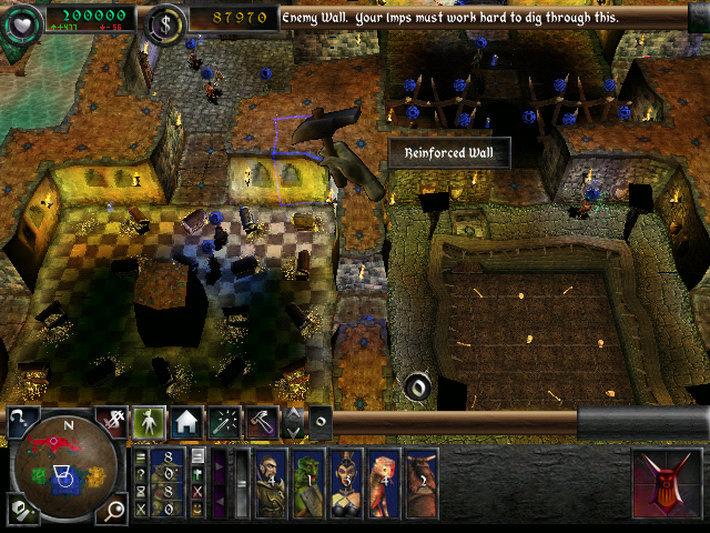 Dungeon Keeper 2 Captura 1