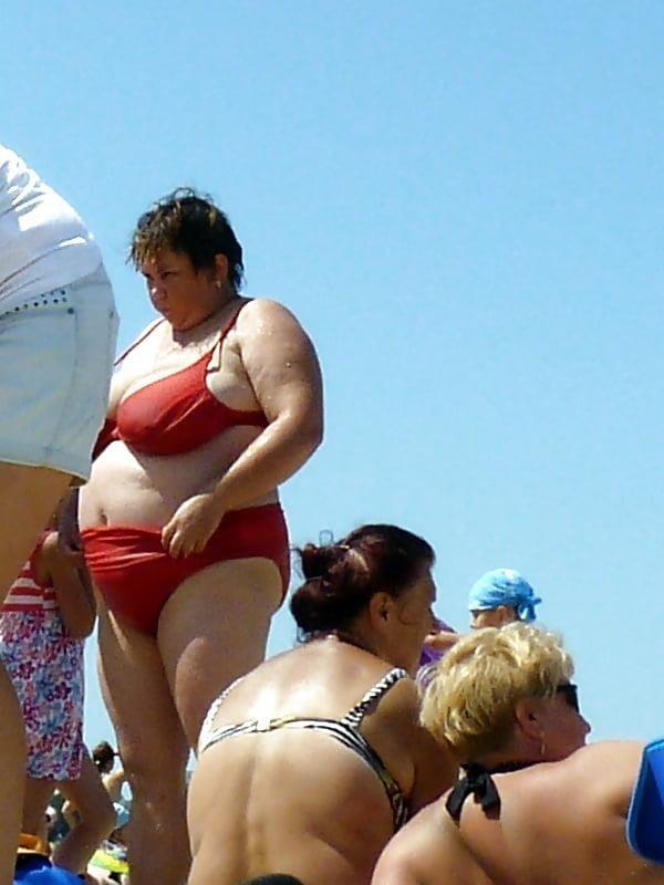 Nude big boobs on beach-8027